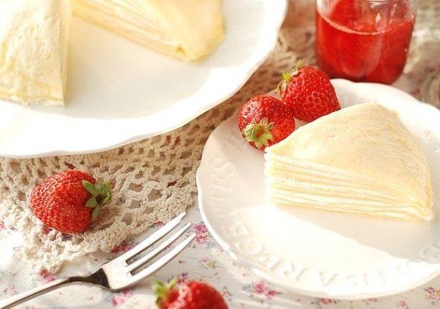 ミックス クレープ ホット ケーキ