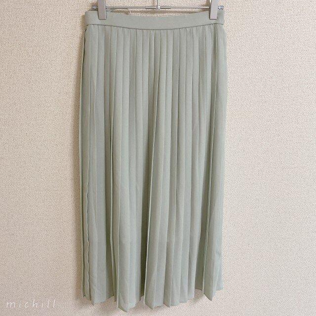 ユニクロ プリーツ ロング スカート