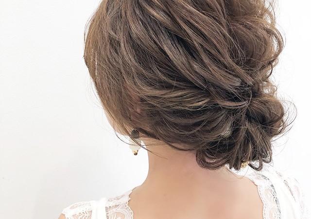 かわいくて簡単♡結婚式のお呼ばれヘアアレンジ