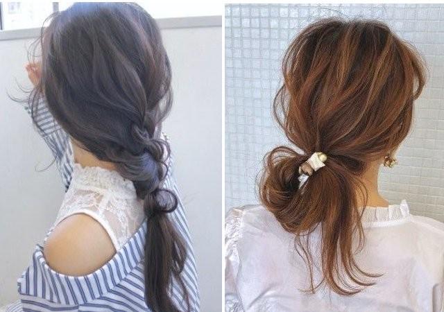 不器用 でもできる簡単まとめ髪ヘアアレンジ