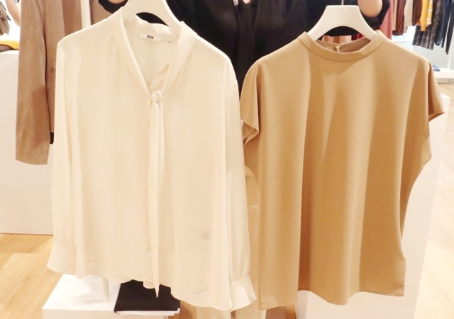 ユニクロ 2020年展示会 新作 ブラウス Tシャツ