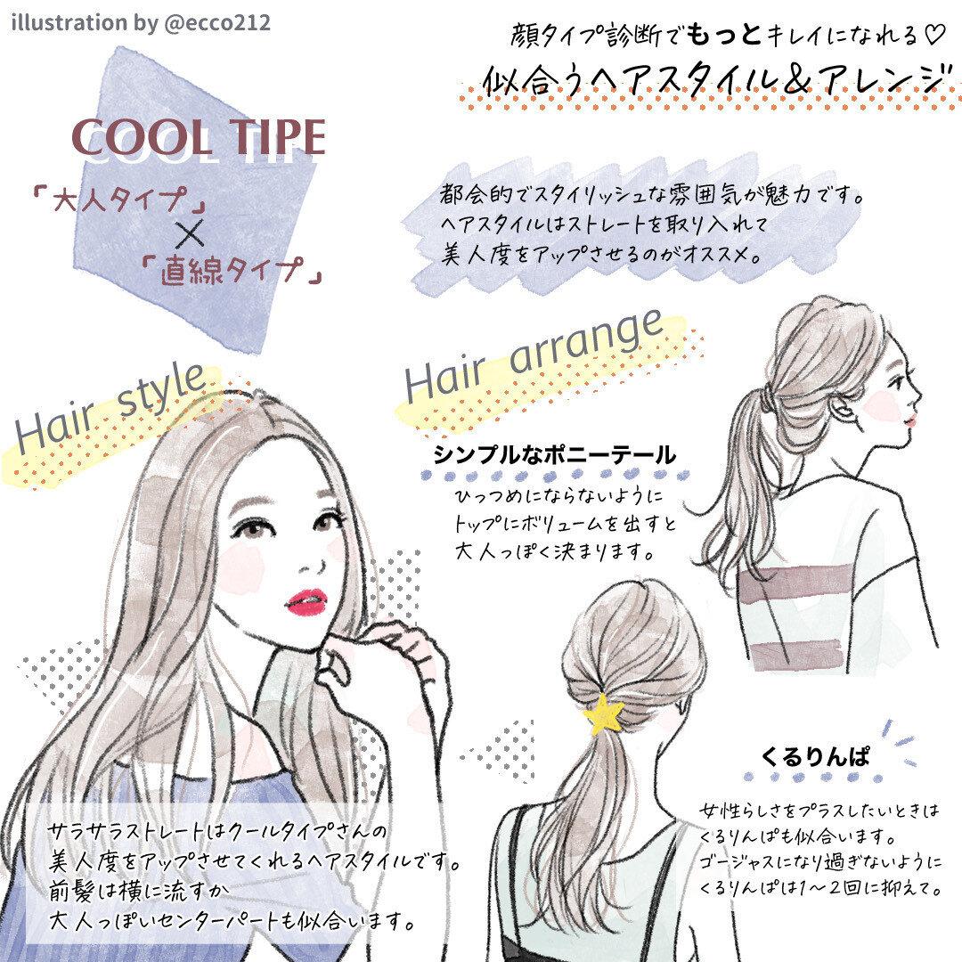 タイプ 髪型 フレッシュ