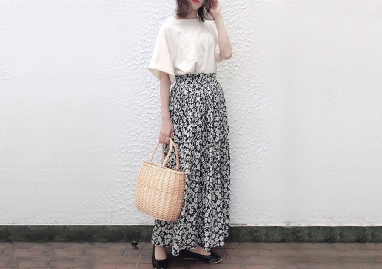 しまむら ロングスカート 可愛い プチプラ