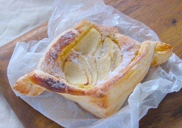 冷凍パイシートで簡単♪パン屋さんのようなデニッシュレシピ