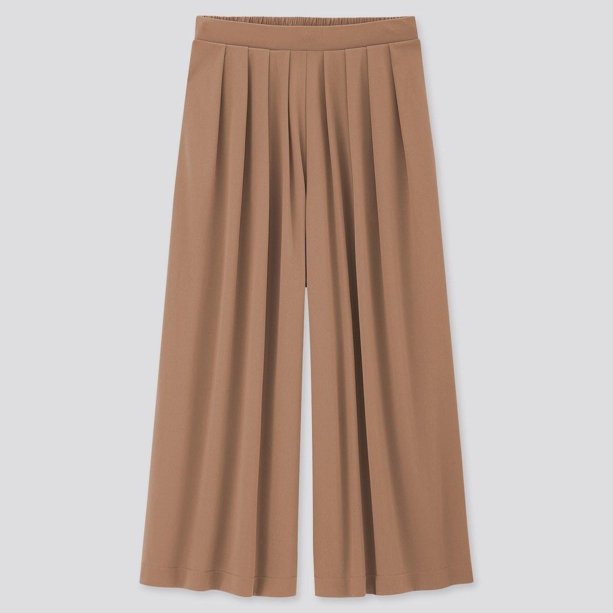 ユニクロ 秋 おすすめ アイテム 2020 初秋 晩夏 人気 おしゃれ レディース トレンド プチプラ 最新 新作 スカートパンツ パンツ クレープジャージー