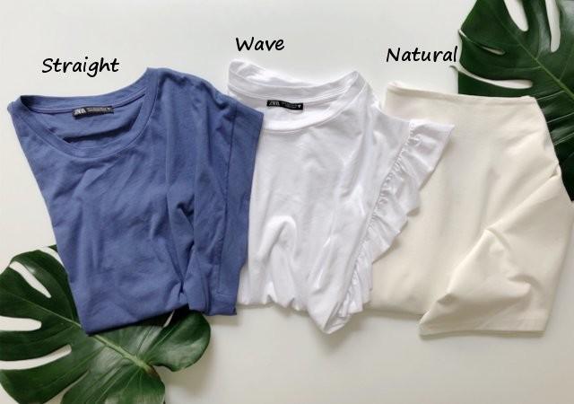 Tシャツ 骨格診断 大人可愛い 体型カバー コンプレックス コーデ GU ZARA