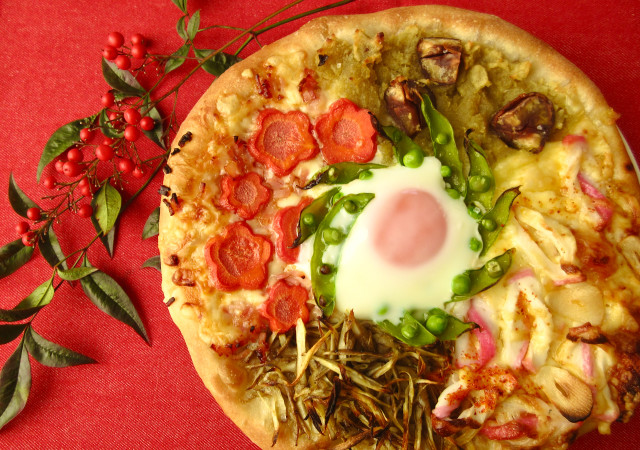 手作りピザ 画像