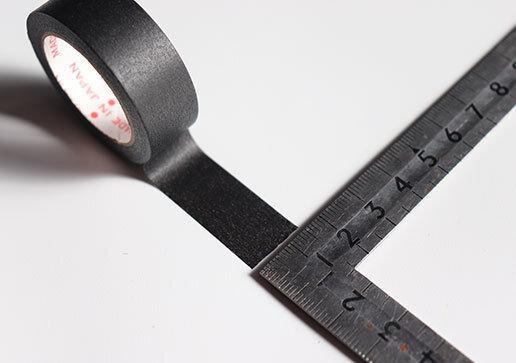 ダイソー マスキングテープ カビ汚れ防止 画像 新作 黒 サイズ 長さ