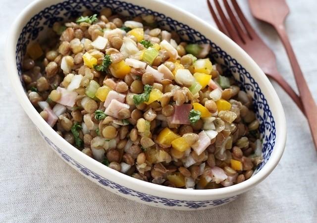 レンズ豆 レシピ スープ カレー